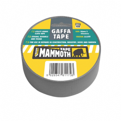 Everbuild 2VGAFFSV45 Gaffa Tape Silver 50mm x 45m